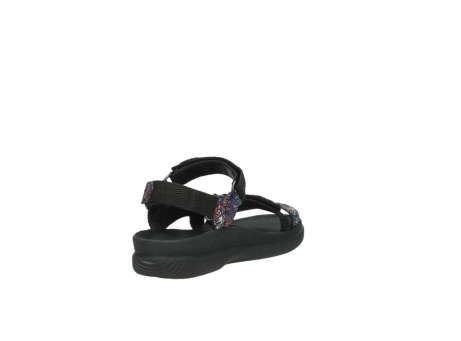 wolky sandalen 00710 energy lady 40970 multi black leather_9