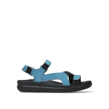 wolky sandalen 00710 energy lady 50840 jeans gevet leer