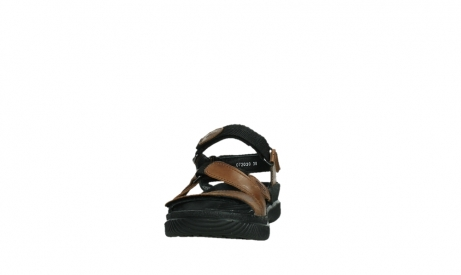 wolky sandales 00720 action lady 30430 cuir cognac_8