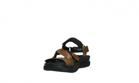 wolky sandales 00720 action lady 30430 cuir cognac_9
