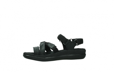 wolky sandalen 00720 action lady 50000 black greased leather_12