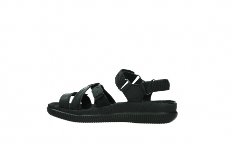 wolky sandalen 00720 action lady 50000 black greased leather_14