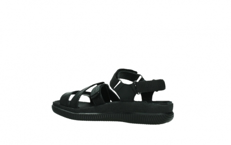 wolky sandalen 00720 action lady 50000 black greased leather_15
