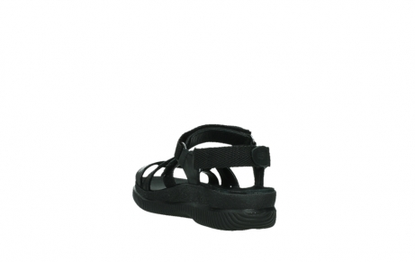 wolky sandalen 00720 action lady 50000 black greased leather_17