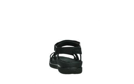 wolky sandalen 00720 action lady 50000 black greased leather_18