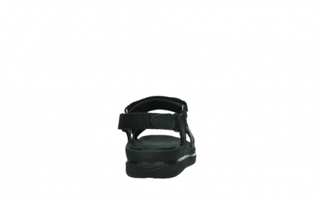 wolky sandalen 00720 action lady 50000 black greased leather_19