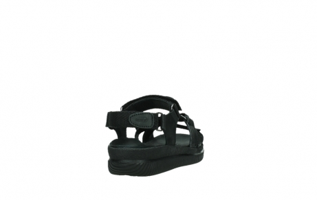 wolky sandalen 00720 action lady 50000 black greased leather_20