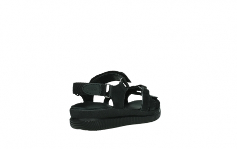 wolky sandalen 00720 action lady 50000 black greased leather_21