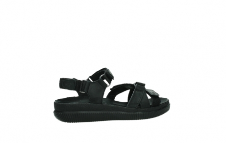 wolky sandalen 00720 action lady 50000 black greased leather_23