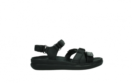 wolky sandalen 00720 action lady 50000 black greased leather_24