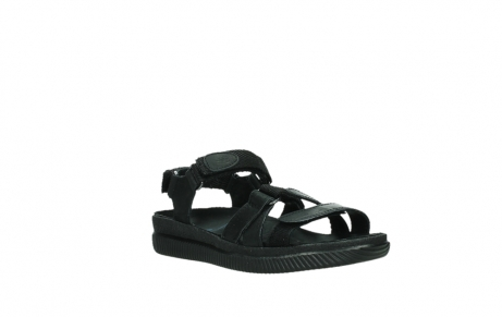 wolky sandalen 00720 action lady 50000 black greased leather_4