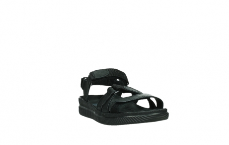 wolky sandalen 00720 action lady 50000 black greased leather_5
