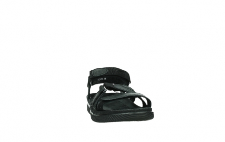 wolky sandalen 00720 action lady 50000 black greased leather_6