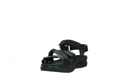 wolky sandalen 00720 action lady 50000 black greased leather_9