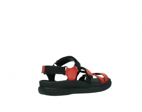 wolky sandalen 00720 action lady 50500 red greased leather_10