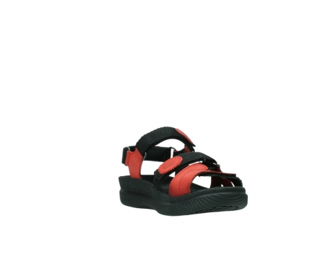 wolky sandalen 00720 action lady 50500 red greased leather_17