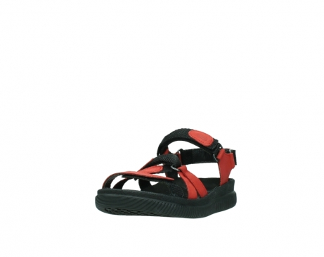 wolky sandalen 00720 action lady 50500 red greased leather_21