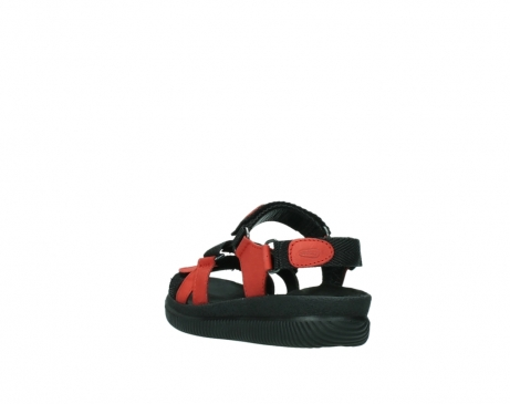 wolky sandalen 00720 action lady 50500 red greased leather_5