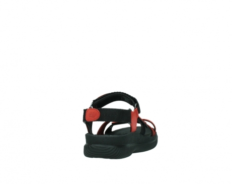 wolky sandalen 00720 action lady 50500 red greased leather_8