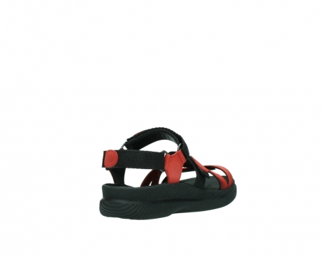 wolky sandalen 00720 action lady 50500 red greased leather_9