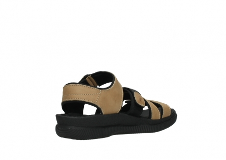 wolky heren sandalen 00722 active 50360 camel greased leather_10