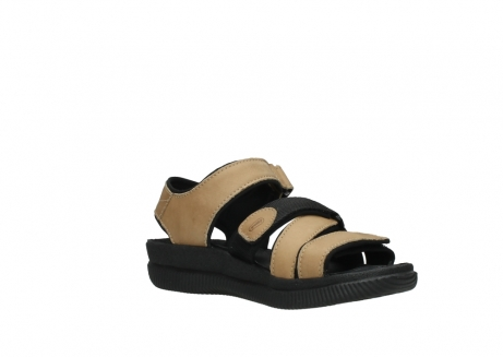 wolky heren sandalen 00722 active 50360 camel greased leather_16