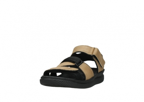 wolky heren sandalen 00722 active 50360 camel greased leather_21
