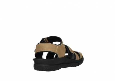 wolky heren sandalen 00722 active 50360 camel greased leather_9