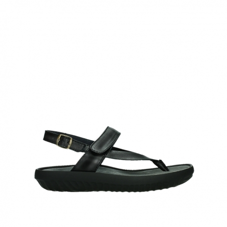 wolky sandalen 00882 cebu 30010 black leather