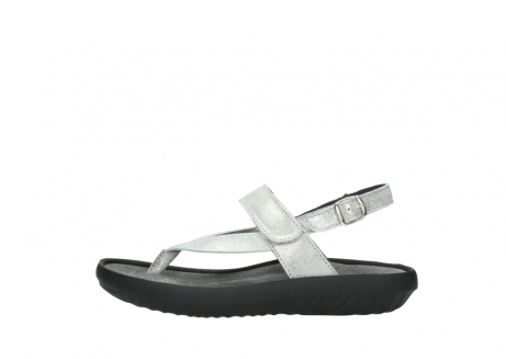 wolky sandalen 00882 cebu 70120 off white silver leather_1