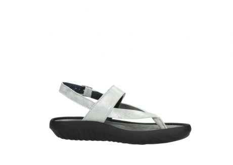 wolky sandalen 00882 cebu 70120 off white silver leather_14