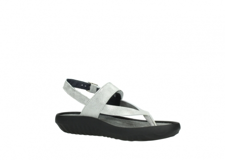 wolky sandalen 00882 cebu 70120 off white silver leather_15