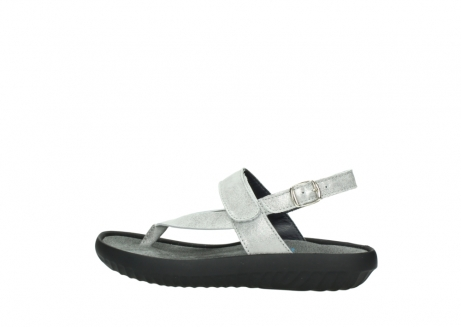 wolky sandalen 00882 cebu 70120 off white silver leather_2