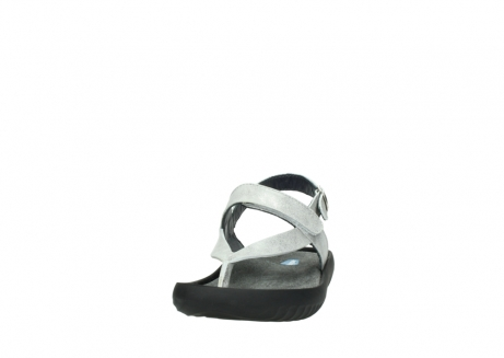 wolky sandalen 00882 cebu 70120 off white silver leather_20