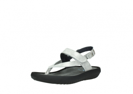 wolky sandalen 00882 cebu 70120 off white silver leather_22