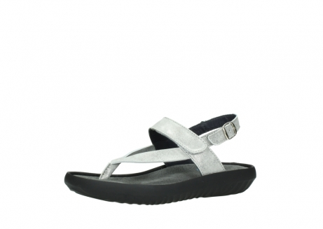 wolky sandalen 00882 cebu 70120 off white silver leather_23