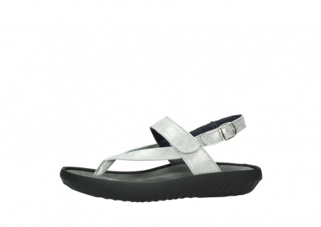 wolky sandalen 00882 cebu 70120 off white silver leather_24