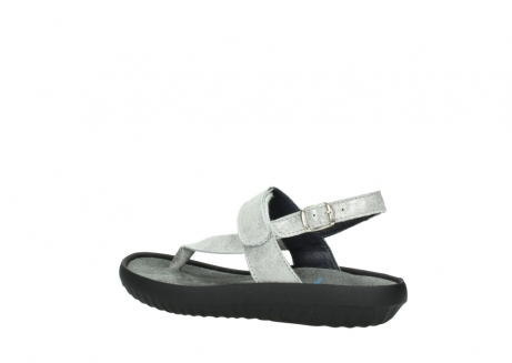 wolky sandalen 00882 cebu 70120 off white silver leather_3