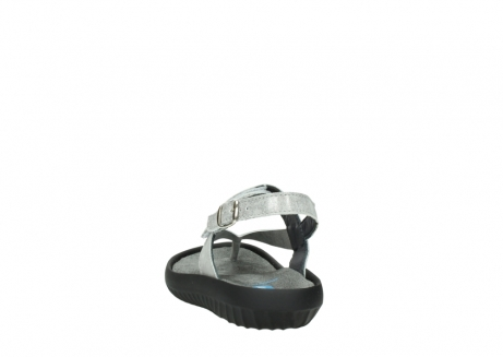 wolky sandalen 00882 cebu 70120 off white silver leather_6