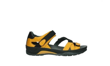 wolky sandalen 01050 ripple 30900 yellow leather_1