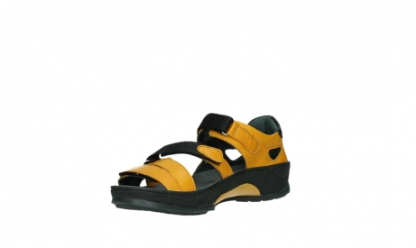 wolky sandalen 01050 ripple 30900 yellow leather_10