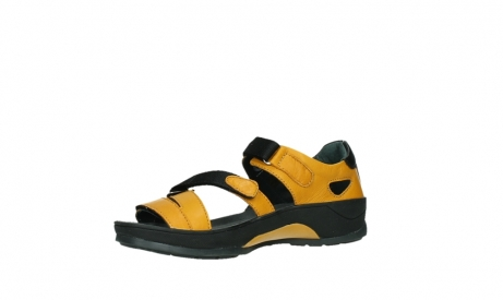 wolky sandalen 01050 ripple 30900 yellow leather_11