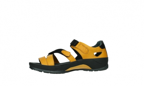 wolky sandalen 01050 ripple 30900 yellow leather_12