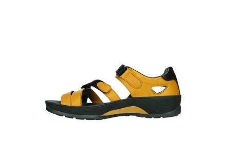 wolky sandalen 01050 ripple 30900 yellow leather_13