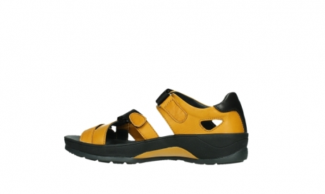 wolky sandalen 01050 ripple 30900 yellow leather_14