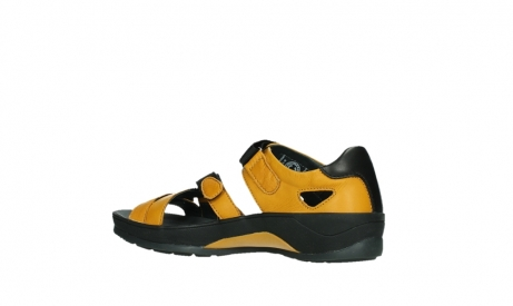 wolky sandalen 01050 ripple 30900 yellow leather_15