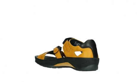 wolky sandalen 01050 ripple 30900 yellow leather_16