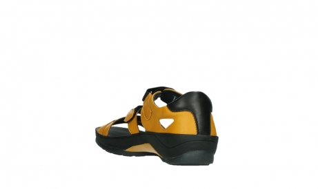 wolky sandalen 01050 ripple 30900 yellow leather_17