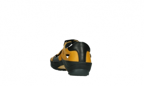 wolky sandalen 01050 ripple 30900 yellow leather_18