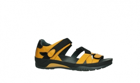 wolky sandalen 01050 ripple 30900 yellow leather_2